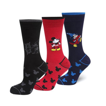 Mickey's 90th Anniversary 3 Pair Socks Gift Set