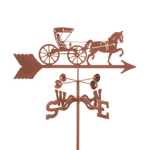 Doctor Horse Buggy Weathervane-Weathervane-EZ Vane-Top Notch Gift Shop