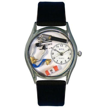 Doctor Watch Small Silver Style