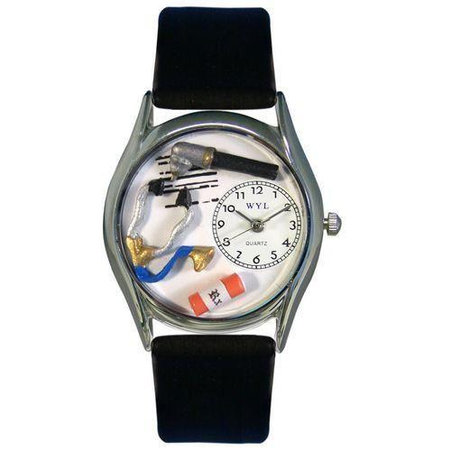 Doctor Watch Small Silver Style-Watch-Whimsical Gifts-Top Notch Gift Shop
