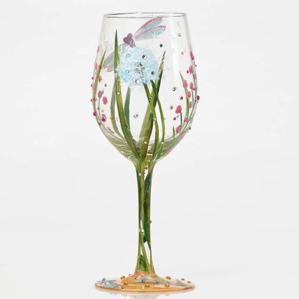 Dragonfly Wine Glass by Lolita®-Wine Glass-Designs by Lolita® (Enesco)-Top Notch Gift Shop