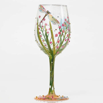 Dragonfly Wine Glass by Lolita®