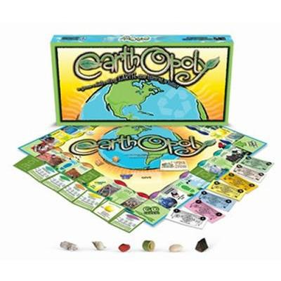 Earth-opoly Monopoly Board Game-Late For The Sky-Top Notch Gift Shop