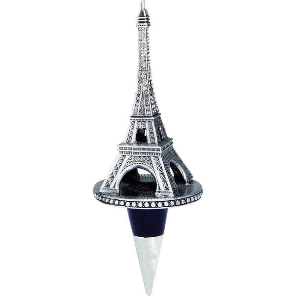 Eiffel Tower Wine Bottle Stopper with Crystals-Bottle Stopper-Olivia Riegel-Top Notch Gift Shop