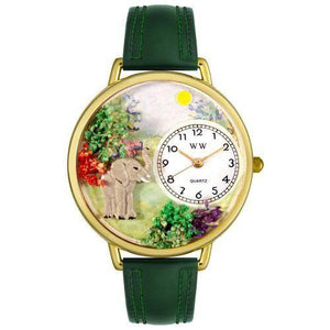 Elephant Watch in Gold (Large)-Watch-Whimsical Gifts-Top Notch Gift Shop