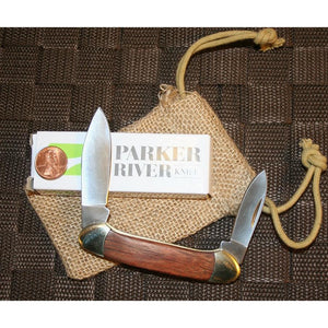 Engraved Century Folding Pocket Knife - Light Rosewood-Pocket Tool-Parker River Knife-Top Notch Gift Shop