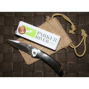 Engraved Classic Folding Pocket Knife - Ebony-Pocket Tool-Parker River Knife-Top Notch Gift Shop