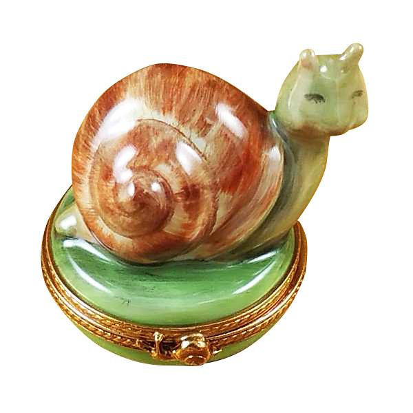 Escargot - Snail Limoges Box by Rochard-Limoges Box-Rochard-Top Notch Gift Shop