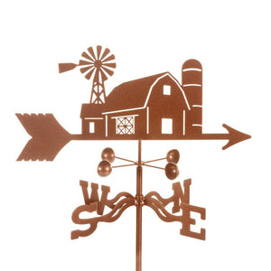 Farm Scene Weathervane-Weathervane-EZ Vane-Top Notch Gift Shop