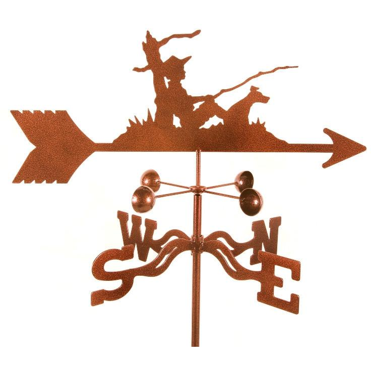 Fisherman Weathervane-Weathervane-EZ Vane-Top Notch Gift Shop