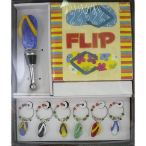 Flip Flop Cocktail Accessory Set-Bar Tool-Beachcombers-Top Notch Gift Shop