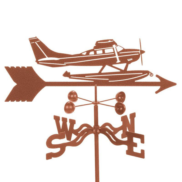 Float Plane Weathervane-Weathervane-EZ Vane-Top Notch Gift Shop