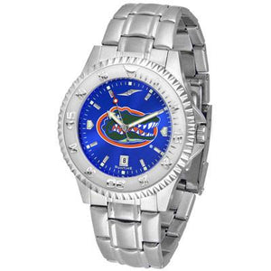 Florida Gators Competitor AnoChrome - Steel Band Watch-Watch-Suntime-Top Notch Gift Shop