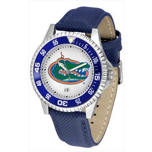 Florida Gators Competitor - Poly/Leather Band Watch-Watch-Suntime-Top Notch Gift Shop