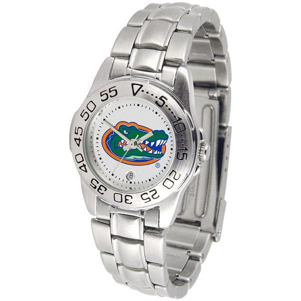 Florida Gators Ladies Steel Band Sports Watch-Watch-Suntime-Top Notch Gift Shop