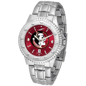 Florida State Seminoles Competitor AnoChrome - Steel Band Watch-Watch-Suntime-Top Notch Gift Shop
