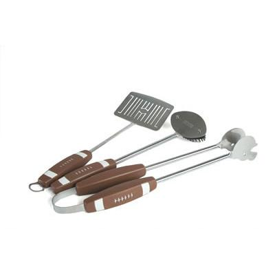 Football 3 Piece Barbeque Tool Set-Companion Group-Top Notch Gift Shop