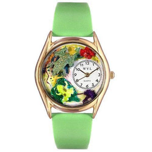 Frogs Watch Small Gold Style-Watch-Whimsical Gifts-Top Notch Gift Shop