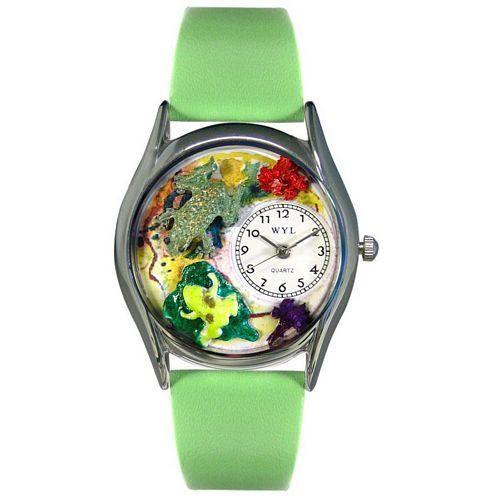 Frogs Watch Small Silver Style-Whimsical GiftsTop Notch Gift Shop