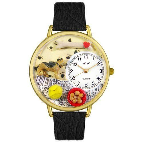 German Shepherd Watch in Gold (Large)-Watch-Whimsical Gifts-Top Notch Gift Shop
