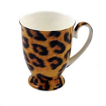 Go Wild  Bone China Mugs - Set of 4