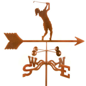 Golfer- Female Weathervane-Weathervane-EZ Vane-Top Notch Gift Shop