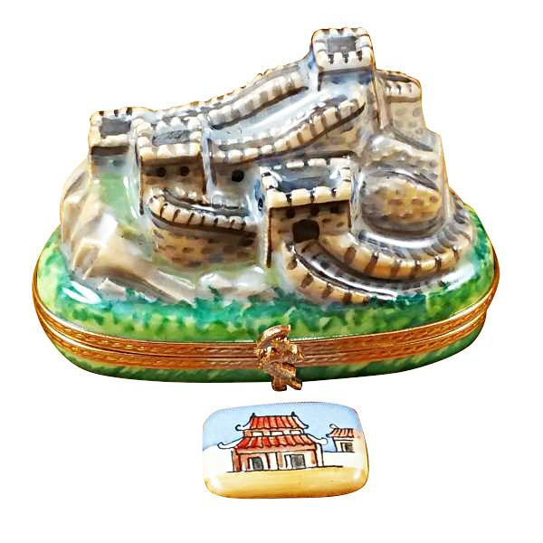 Great Wall Of China Limoges Box by Rochard-Limoges Box-Rochard-Top Notch Gift Shop