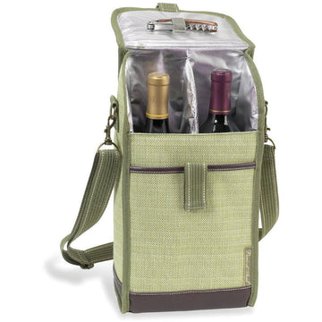 Hampton's Insulated Two Bottle Wine Tote