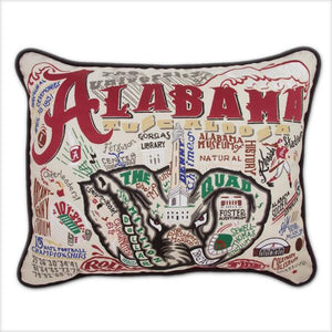 University of Alabama Embroidered Catstudio Pillow-Pillow-CatStudio-Top Notch Gift Shop