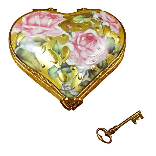 Heart - Key To My Heart Limoges Box by Rochard™-Rochard-Top Notch Gift Shop