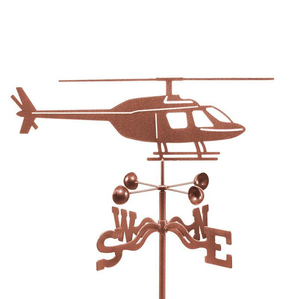 Helicopter Weathervane-Weathervane-EZ Vane-Top Notch Gift Shop