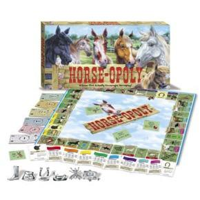 Horse-opoly Monopoly Board Game-Late For The Sky-Top Notch Gift Shop