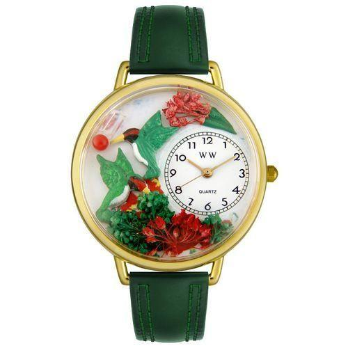 Hummingbirds Watch in Gold (Large)-Watch-Whimsical Gifts-Top Notch Gift Shop