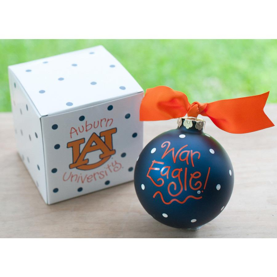 Auburn Logo Ornament-Coton Colors-Top Notch Gift Shop