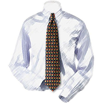 Martini Olives Silk Necktie
