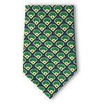 Baseball Field Silk Necktie-Necktie-Josh Bach Limited-Top Notch Gift Shop