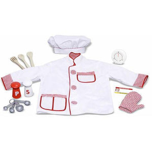 Chef Costume Role Play Set-Toy-Melissa & Doug-Top Notch Gift Shop