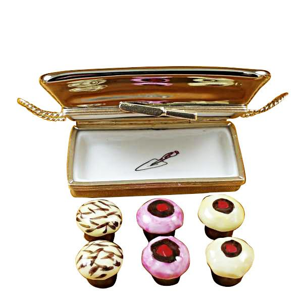 Cupcake Tray Limoges Box by Rochard™-Rochard-Top Notch Gift Shop