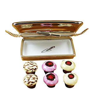 Cupcake Tray Limoges Box by Rochard™-Limoges Box-Rochard-Top Notch Gift Shop