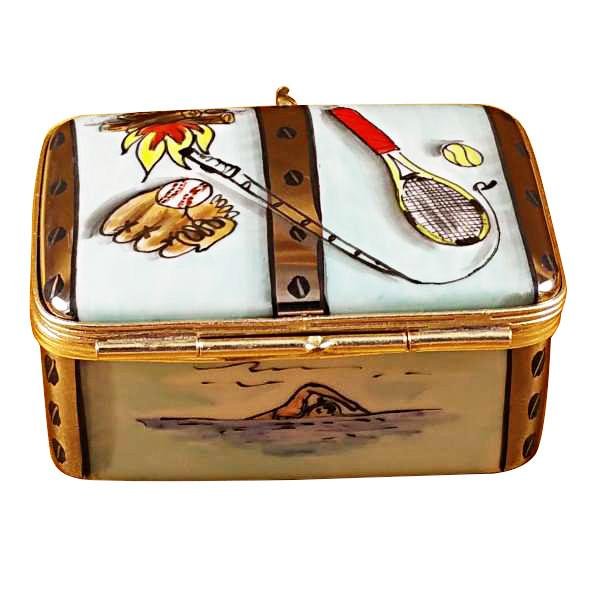 Camp Trunk Limoges Box by Rochard™-Rochard-Top Notch Gift Shop
