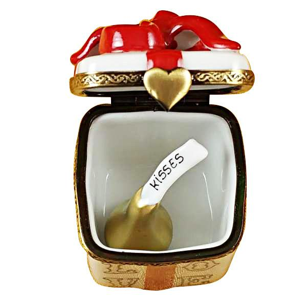 Love Gift Box With Xo/Xo And Removable Kiss Limoges Box by Rochard™-Rochard-Top Notch Gift Shop