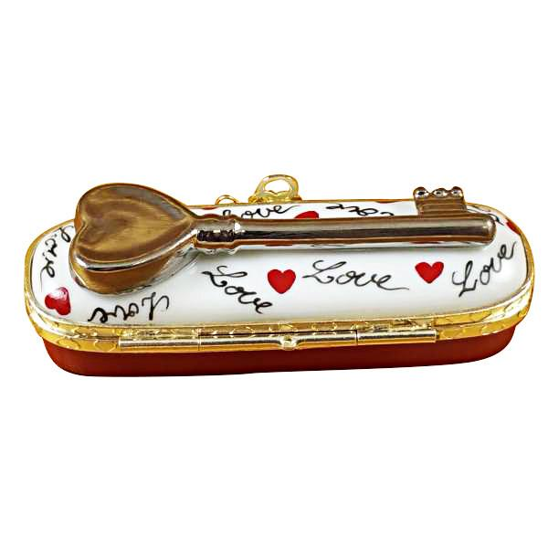 Key To My Heart Limoges Box by Rochard™-Limoges Box-Rochard-Top Notch Gift Shop