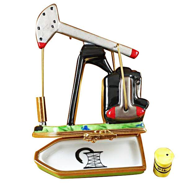 Pump Jack Limoges Box by Rochard™-Rochard-Top Notch Gift Shop