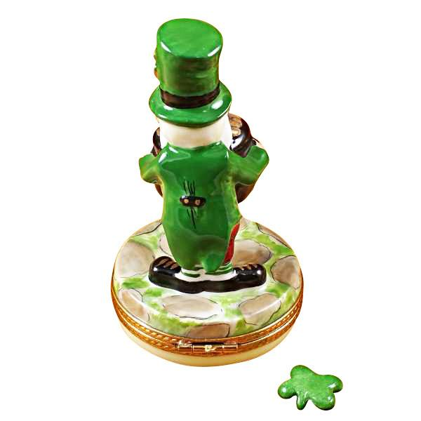 Leprechaun Limoges Box by Rochard-Limoges Box-Rochard-Top Notch Gift Shop