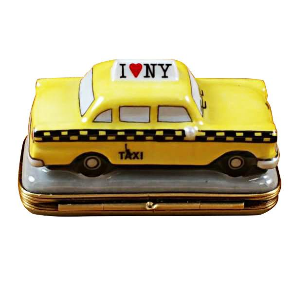 Yellow Taxi - I Love New York Limoges Box by Rochard™-Rochard-Top Notch Gift Shop