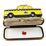 Yellow Taxi - I Love New York Limoges Box by Rochard-Limoges Box-Rochard-Top Notch Gift Shop