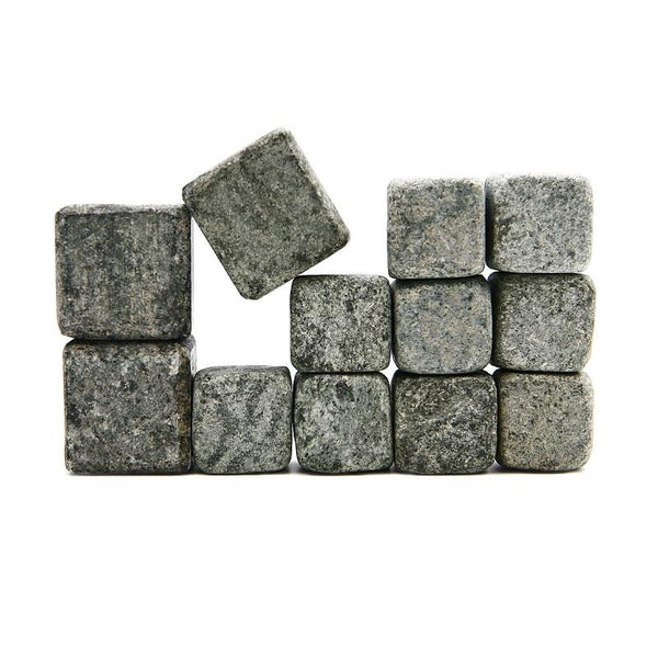 Sparq Soapstone Whiskey Rocks - Mixed Set of 12-Bar Tool-Sparq-Top Notch Gift Shop