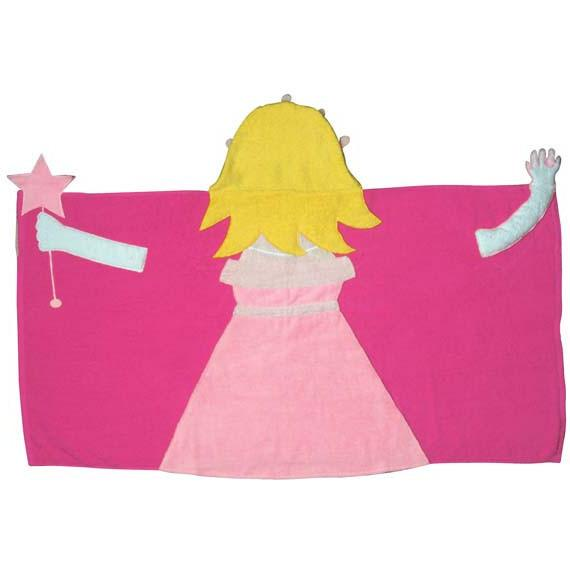 Princess Hooded Towel-Hooded Towel-Scene Weaver-Top Notch Gift Shop