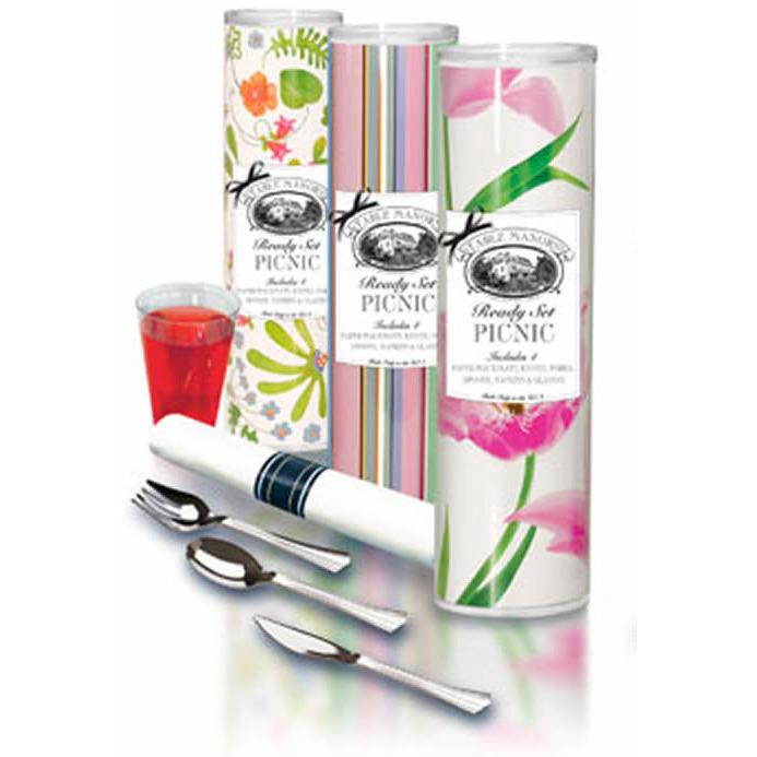 Botanical Nights Picnic in a Tube-Picnic-Table Manors-Top Notch Gift Shop