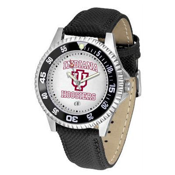 Indiana Hoosiers Competitor - Poly/Leather Band Watch